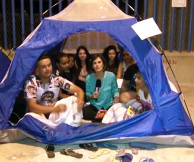 Fãs de Justin Bieber acampam desde já para show no Rio apenas em março
