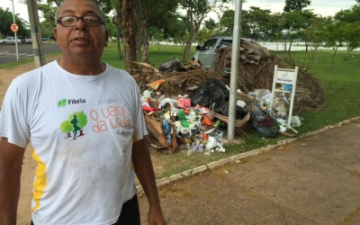 """Amigos da Lagoa"" se mobilizam e realizam limpeza na Lagoa Maior"