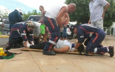 Cerca de 10 minutos depois, PM registra novo acidente em Três Lagoas