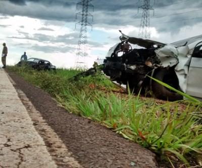 Ultrapassagem arriscada teria provocado acidente que deixou quatro feridos
