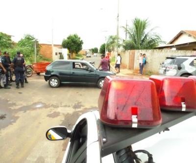 Condutor não habilitado fica ferido ao se envolver em acidente no São João