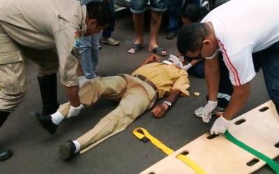 Idoso que sofreu acidente em avenida morre no Hospital Auxiliadora