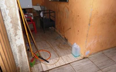 Ladrão ousado furta botijão de gás de residência