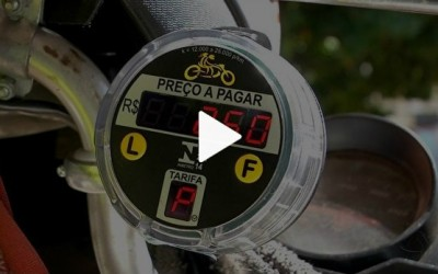 Mototaxímetro começa a ser testado na capital de Mato Grosso do Sul