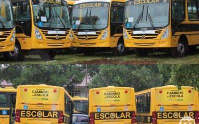 Ex-governador responderá na Justiça por troca de adesivos em ônibus escolares
