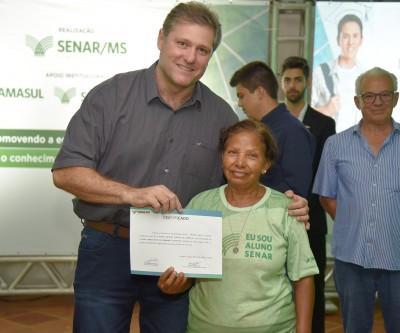 Em 2018, Sindicato Rural certificou mais de 2 mil alunos em Três Lagoas