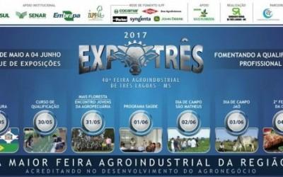Sindicato Rural apresenta a programação da 40ª Expotrês