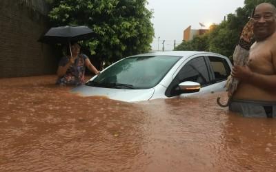 Defesa Civil diz que chuva atingiu os 200 mm em Três Lagoas