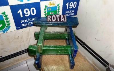 Sete quilos de maconha são apreendidas pela Rotai