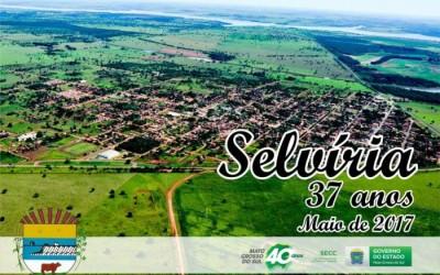 Festividades em comemoração ao aniversário de Selvíria começam neste sábado