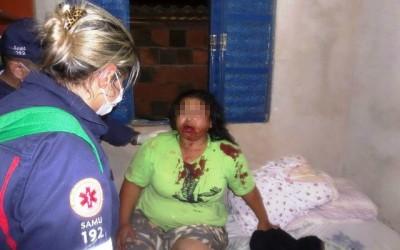 SAMU socorre vítima de agressão no Jardim Imperial em Três Lagoas