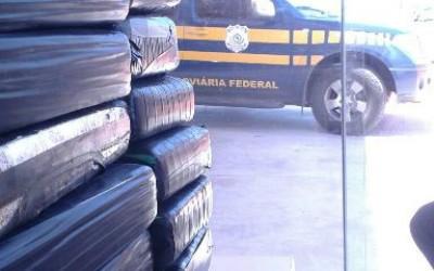 PRF de Três Lagoas intercepta carregamento de quase 55 Kg de cocaína