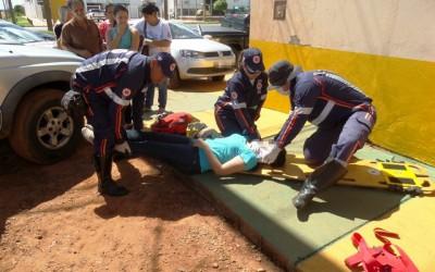Acidente entre dois veículos na BR-262 deixa jovem ferida em Três Lagoas