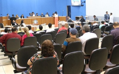 Câmara aprova cinco projetos de lei de autoria dos vereadores