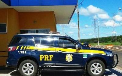 Veículo de carga roubado no Espírito Santo é recuperado pela PRF em Três Lagoas