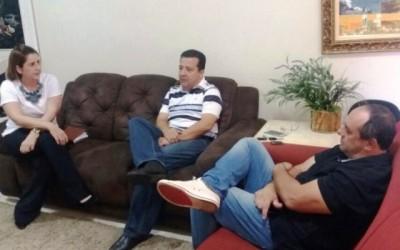 Vereador visita escritório do Deputado Eduardo Rocha