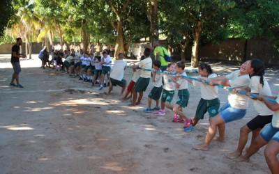 """Alunos dos Programas Sociais participam de ação da """"Semana Mundial do Brincar"""""""