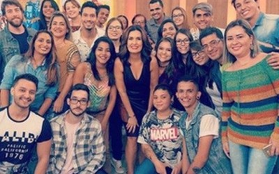 Alunos da AEMS participam do Encontro com Fátima Bernardes