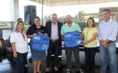 Prefeitura entrega novos uniformes ao SAMU e agentes comunitários de saúde
