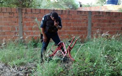 Polícia Militar descobre desmanche ao lado da Lagoa Maior