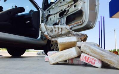 Campo-grandense é preso com 40 Kg de pasta base de cocaína