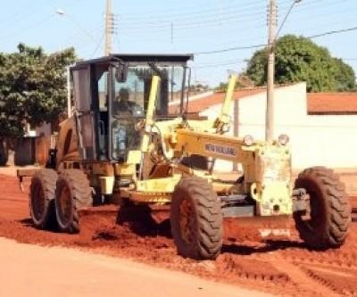 Avenida Jary Mercando recebe benfeitorias visando qualidade no tráfego
