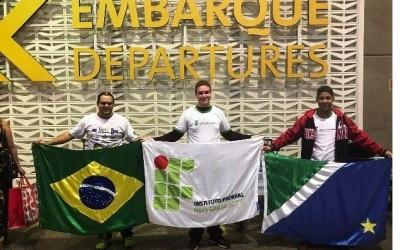 Estudantes do Campus Três Lagoas do IFMS participam de conferência sobre tecnologia em Portugal