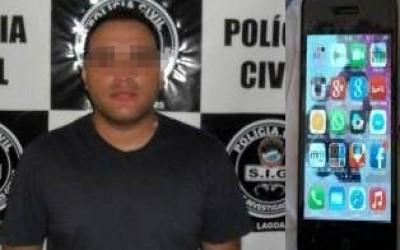 """Três-lagoense """"vendia""""  Iphones pela internet e aplicava golpes em todo o Brasil"""