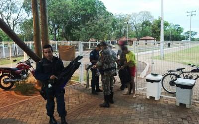 Jovens são detidos por pesca subaquática no Balneário Municipal