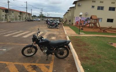 Em buscas pelo Residencial Novo Oeste, Rotai encontra moto roubada