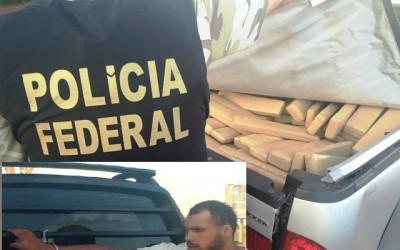 Polícia Federal e ROTAI prende traficante de Ponta Porã que chegava em Três Lagoas com maconha