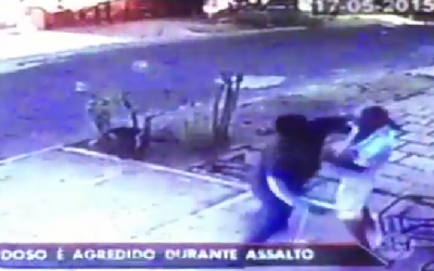 Jornal SBT Brasil destaca assalto ocorrido em Três Lagoas no último domingo