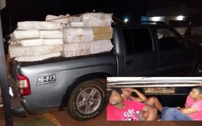 Mais de 2,5 toneladas de maconha são apreendidas pela ROTAI na zona rural de Três Lagoas