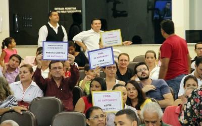 Vereadores não votam reposição salarial abaixo da inflação para servidores municipais