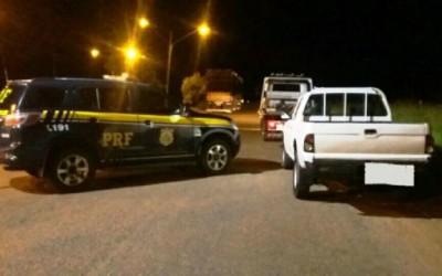 Motorista de L-200 é preso pela Polícia Rodoviária Federal de Três Lagoas