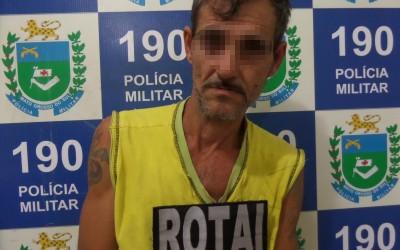 Homem de 47 anos é preso por tráfico de drogas na Vila Piloto