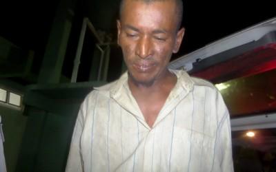 Homicida preso na divisa entre MS e SP confessa o crime e disse que fugiu pela ponte ferroviária