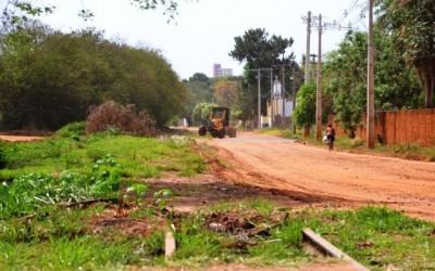 Prefeitura de Três Lagoas inicia limpeza do traçado da antiga linha férrea que dará lugar a avenida