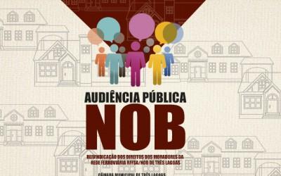 Audiência pública vai discutir regularização de casas da NOB