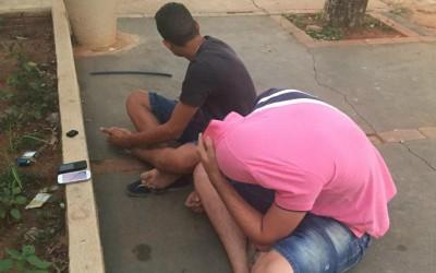 S.I.G. prende quatro jovens e apreende dois adolescentes durante ação no bairro Vila Haro