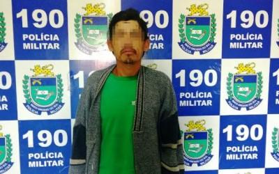 Após abordagem de rotina, Rádio Patrulha da PM detém homem no Jardim Alvorada