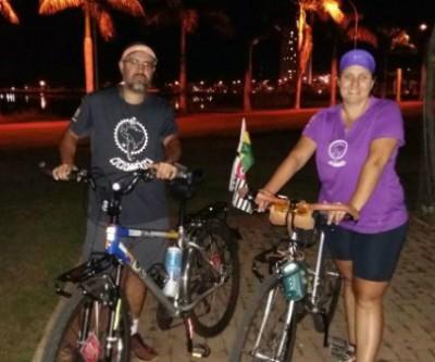 Após 19 dias de viagem, ciclistas de São Paulo chegam a Três Lagoas