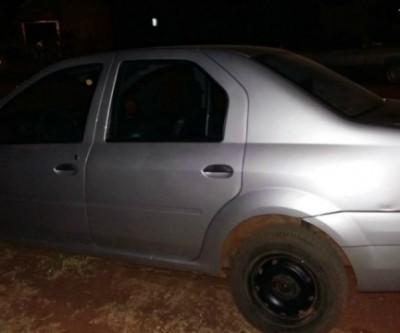ROTAI apreende carro que foi usado em tentativa de roubo no Jardim dos Ipês
