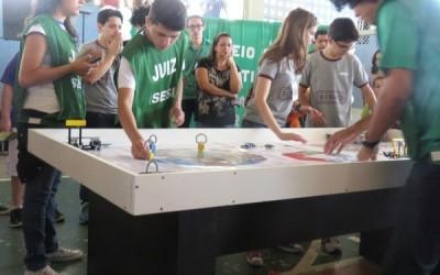 Nonotec é a campeã de Três Lagoas do 2º Torneio de Robótica das Escolas do Sesi