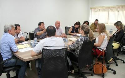 Vereadores e representantes do Sinted tratam de melhorias para servidores