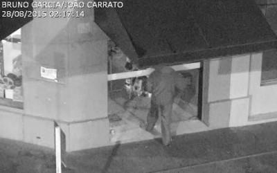 Central de Monitoramento flagra bandidos tentando furtar comércio na área central de Três Lagoas