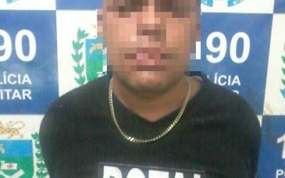 Denúncia via 190 coloca vendedor de drogas na cadeia