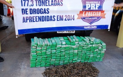 Carga de maconha e munições para fuzil é apreendia pela PRF em Bataguassu
