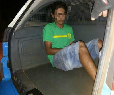 Bandido rouba tia e sobrinha no bairro Ipacaraí e é preso em casa poucos minutos depois