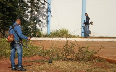 Nova sede da UNEI começa a receber reparos para entrar em funcionamento